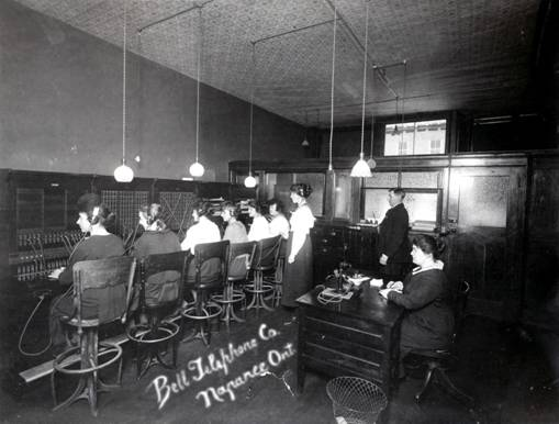 First Telephones in Napanee in 1880's